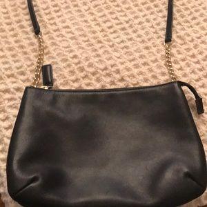 Talbots Leather Purse Black